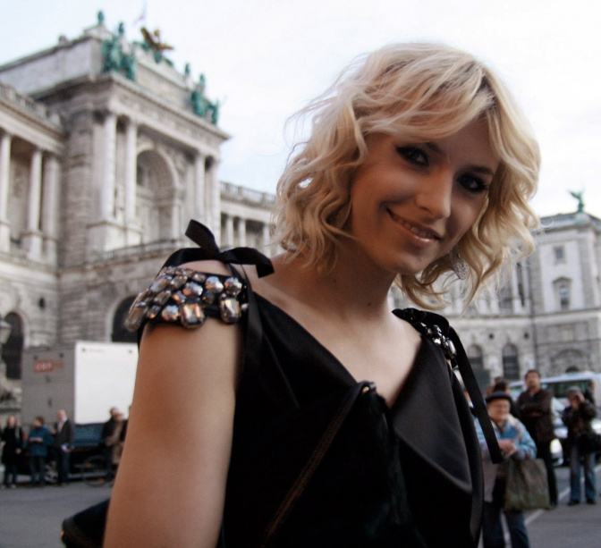 Lena Gercke at the ROMY 2010 tv and film awards in Vienna