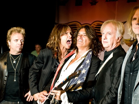 Die Band Aerosmith